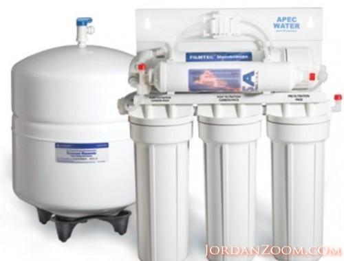 فلاتر مياه 7 مراحل بسعر التكلفة والتركيب مجاناً
