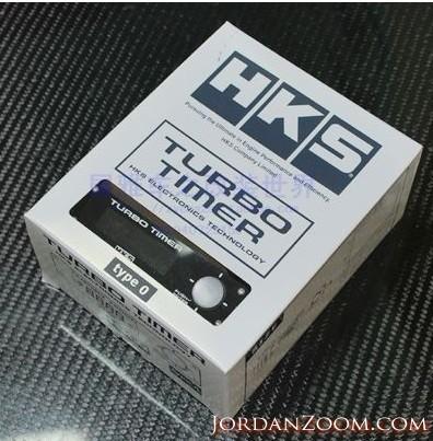 HKS TURBO TIMER TYPE 0 BLACK UNIVERSAL 41001-AK009 RED LED